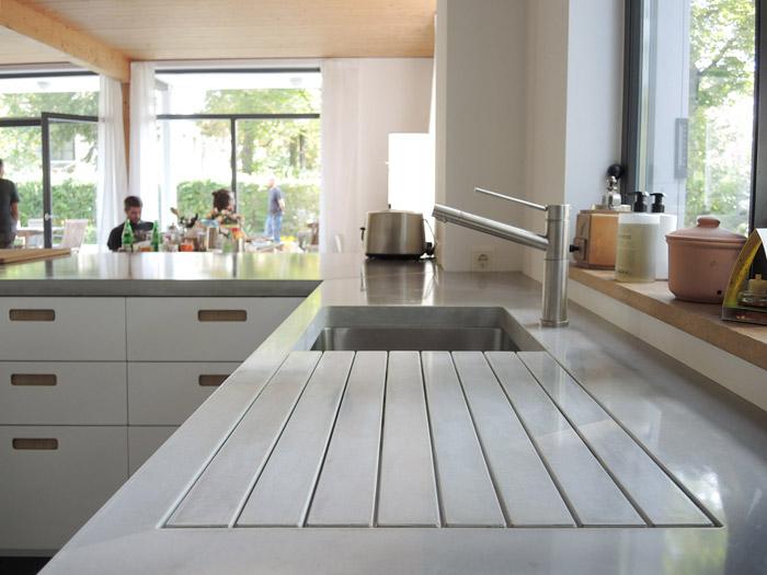 Küchenarbeitsplatten aus Beton
