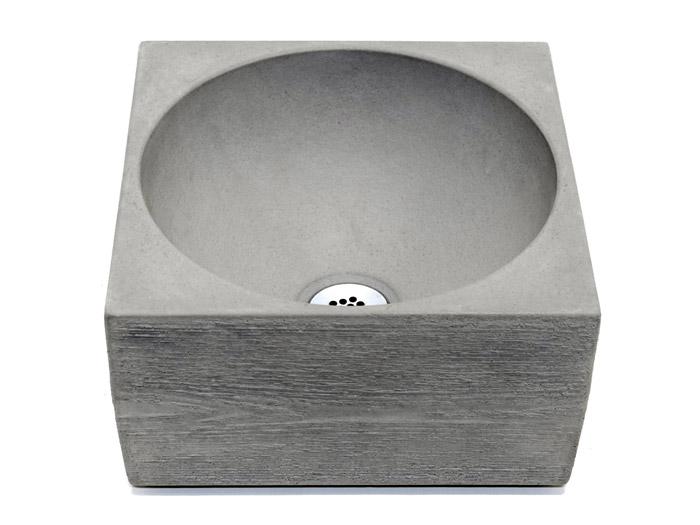 Beton Handwaschbecken Pantheon rauh